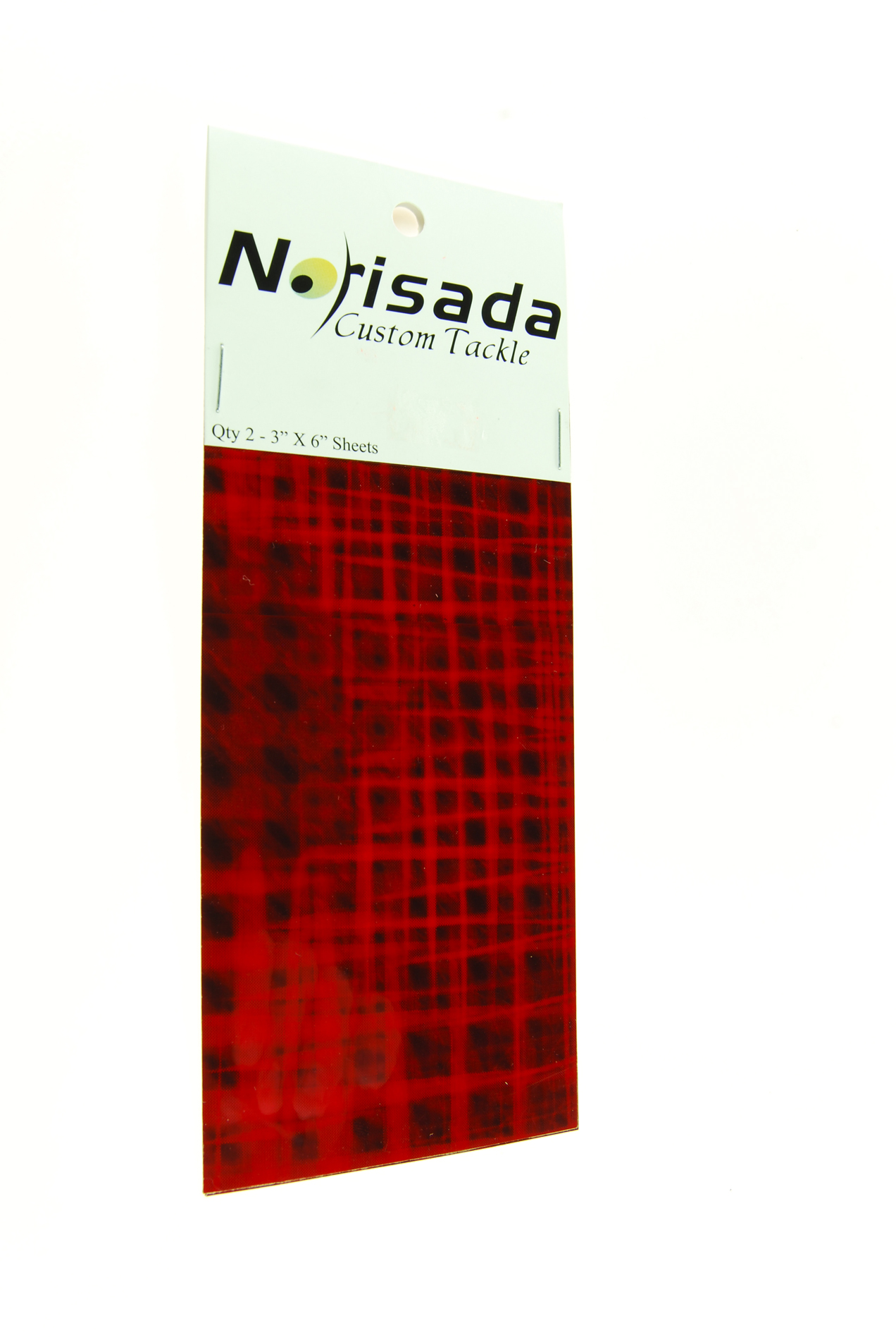 Norisada Disco Plaid Green Red Silver Fishing Lure Tape Dodgers Spoons Spinners
